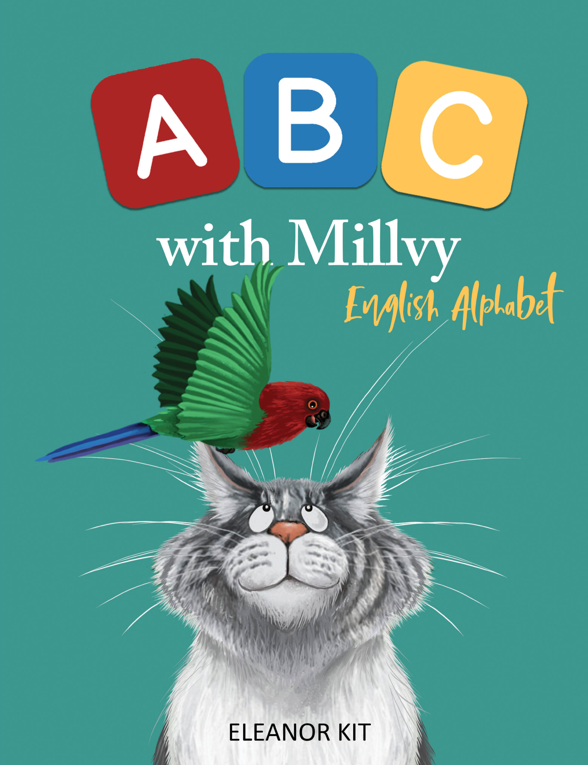 Millvy's Missing Tail - A silver cat mystery story
